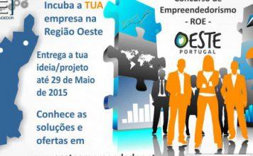 Concurso de Empreendedorismo Oeste Portugal – Edição de 2015