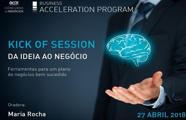 KICK OFF SESSION – DA IDEIA AO NEGÓCIO