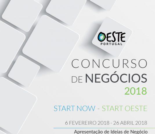 CONCURSO DE NEGÓCIOS – OESTE PORTUGAL 2018